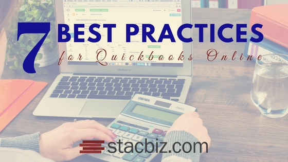 7 Best Practices for QuickBooks Online