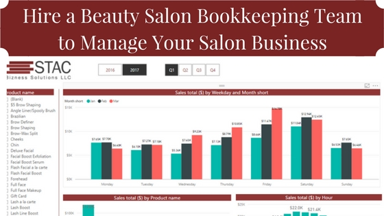 Hire a Beauty Salon Bookkeeping Team to Manage Your Salon Business