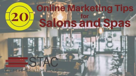 Top 20 Online Marketing Tips for Salons & Spas