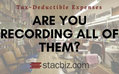 Tax-Deductible Expenses: Are You Recording All of Them?
